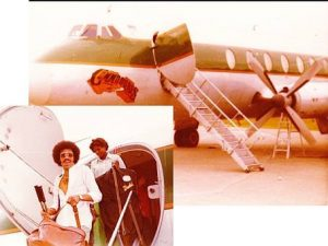 Commodores music group's aircraft
