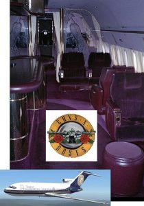 Guns N' Roses Aircraft