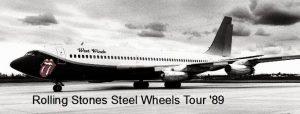 Rolling Stones Steel Wheels Tour 1989