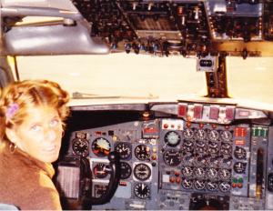 Sunshine Lofton Beeson in Fleetwood Mac Aircraft